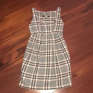 Adorable Eva Franco Plaid wool dress. Size 0